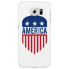 America 4th July USA Shield Phone Case