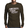 America F..k Yeah Mens Long Sleeve T-Shirt