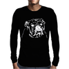 American Bulldog Face Mens Long Sleeve T-Shirt