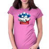 American classic Corvette Womens Fitted T-Shirt