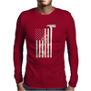 American Firefighter - Funny Mens Long Sleeve T-Shirt