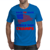 American Flag Back To Back Mens T-Shirt