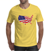 American Flag Map of the United States Mens T-Shirt