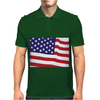 American Flag Mens Polo
