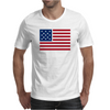American Flag Stars & Stripes Mens T-Shirt