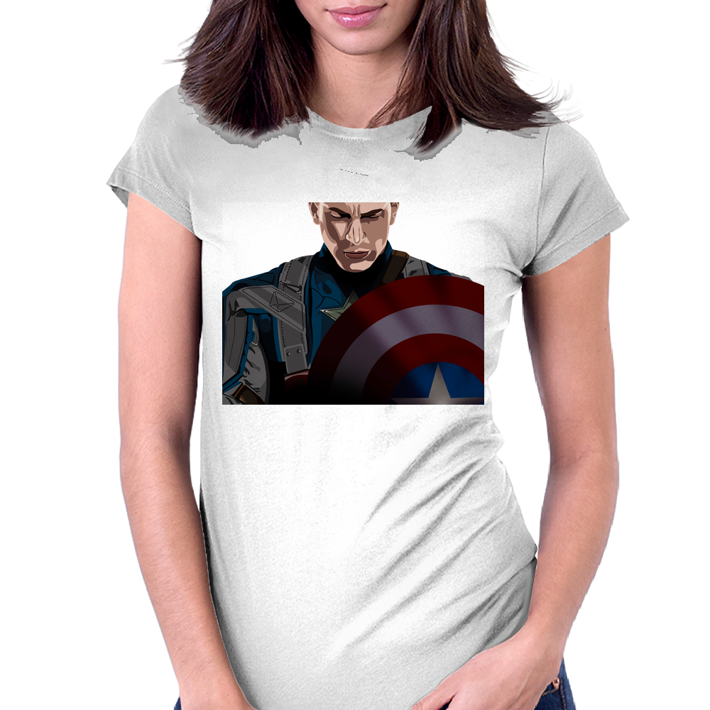American Hero Womens Fitted T-Shirt