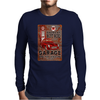 American Hot Rod Garage Sign, Ideal Gift or Birthday Present. Mens Long Sleeve T-Shirt