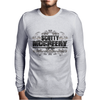 American Idol Scotty McCeery Floral Skull Chains Black Silver9 Mens Long Sleeve T-Shirt