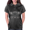 American Idol Scotty McCeery Floral Skull Chains Black Silver9 Womens Polo