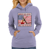 American Music Written In Blood Womens Hoodie