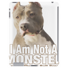 American Pit Bull Terrier Respect Tablet (vertical)