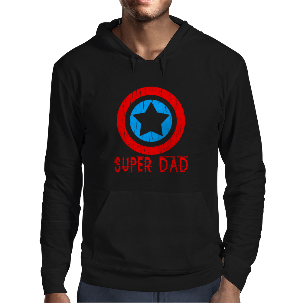American Superhero Matching Shirt or One Piece Set Funny Humor Geek Mens Hoodie