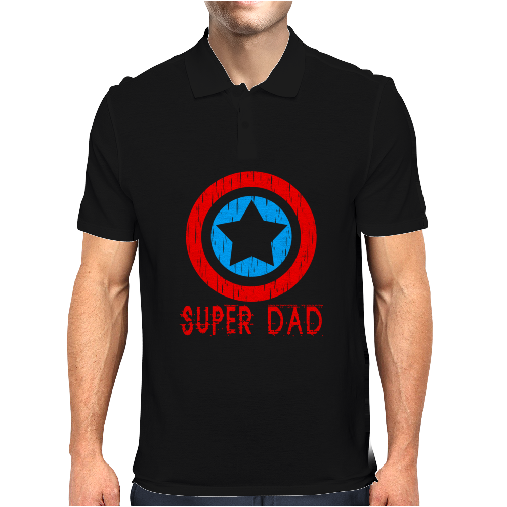 American Superhero Matching Shirt or One Piece Set Funny Humor Geek Mens Polo