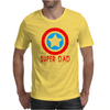 American Superhero Matching Shirt or One Piece Set Funny Humor Geek Mens T-Shirt