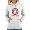 American Superhero Matching Shirt or One Piece Set Funny Humor Geek Womens Hoodie
