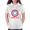 American Superhero Matching Shirt or One Piece Set Funny Humor Geek Womens Polo