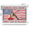 Americana Music, Written In Blood Tablet (horizontal)