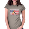 Americana Music, Written In Blood Womens Fitted T-Shirt