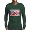 Americana Music, Written With Blood Mens Long Sleeve T-Shirt
