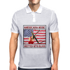 Americana Music- Written With Blood Mens Polo