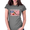 Americana Music, Written With Blood Womens Fitted T-Shirt