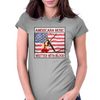 Americana Music- Written With Blood Womens Fitted T-Shirt