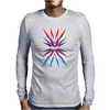 Ameriviruz Funny Humor Geek Mens Long Sleeve T-Shirt