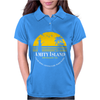 Amity Island Jaws Inspired Movie Shark Printed Womens Polo