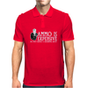 Ammo is expensive Funny Humor Geek Mens Polo