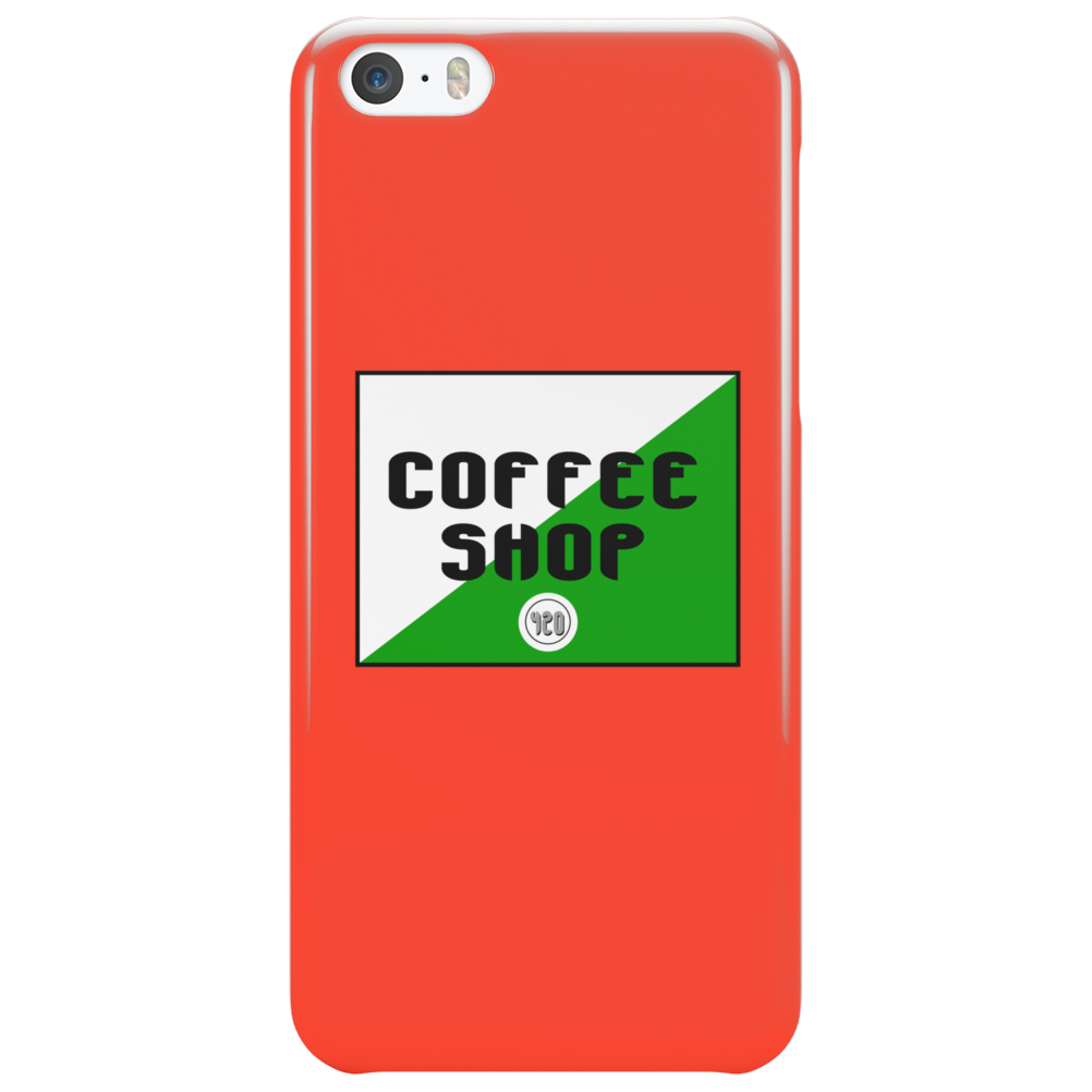 Amsterdam coffee shop Funny Humor Geek Phone Case