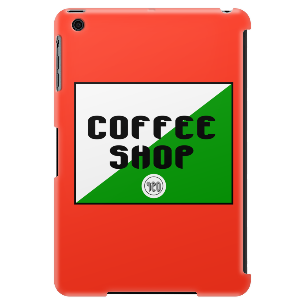 Amsterdam coffee shop Funny Humor Geek Tablet