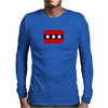 Amsterdam flag Funny Humor Geek Mens Long Sleeve T-Shirt