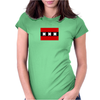 Amsterdam flag Funny Humor Geek Womens Fitted T-Shirt