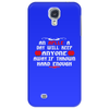 An aplle a day will keep anyone away,if thrown hard enough Funny Humor Geek Phone Case