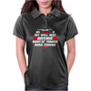 An aplle a day will keep anyone away,if thrown hard enough Funny Humor Geek Womens Polo