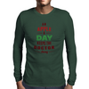 An Apple A Day Keeps The Doctor Away Mens Long Sleeve T-Shirt