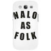 Analog As Folk Phone Case