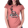 Anarchy machine Womens Fitted T-Shirt