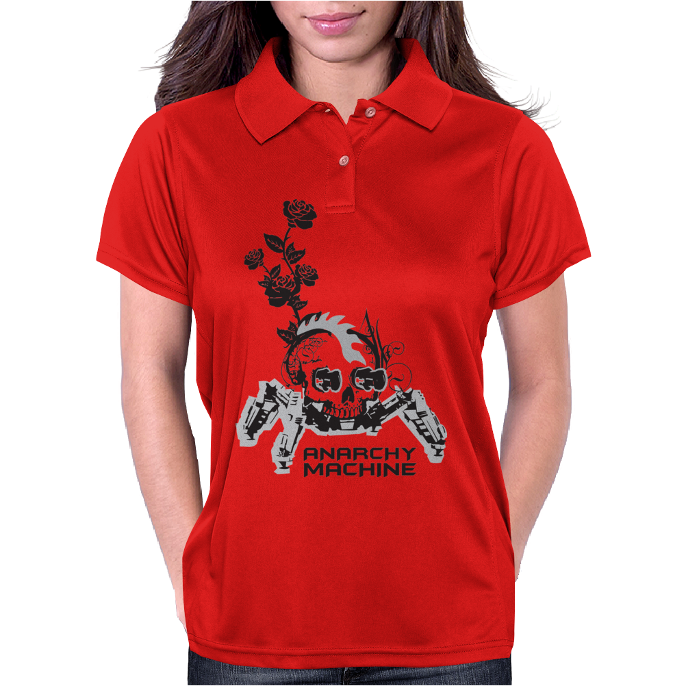 Anarchy machine Womens Polo