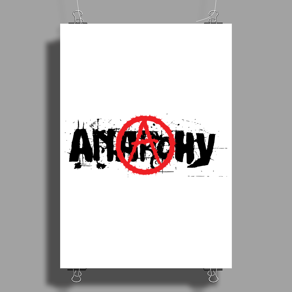 Anarchy Poster Print (Portrait)