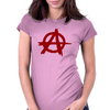 Anarchy Womens Fitted T-Shirt