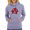 Anarchy Womens Hoodie