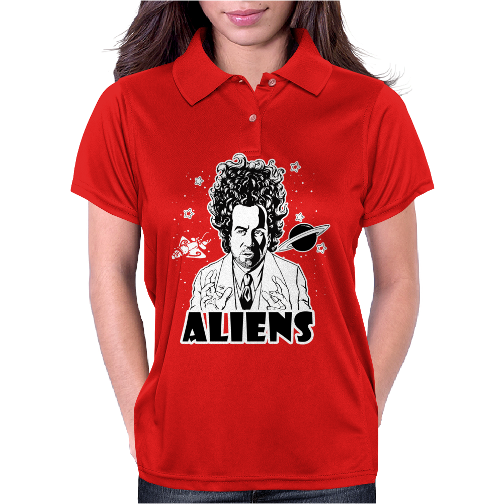 Ancient Aliens - Aliens Womens Polo