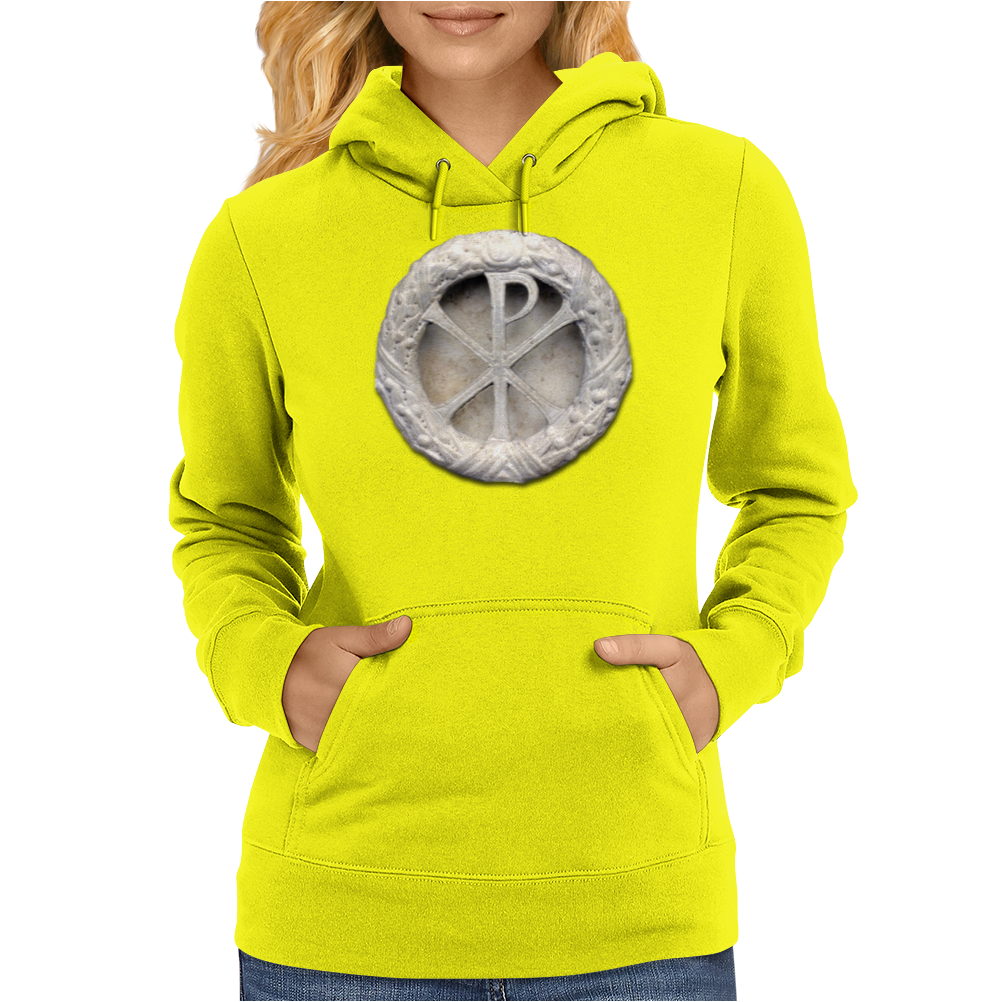 Ancient Christogram Womens Hoodie