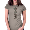 ANCIENT PAGAN SYMBOLS Womens Fitted T-Shirt