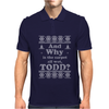 And Why is the carpet all wet, Todd? Mens Polo