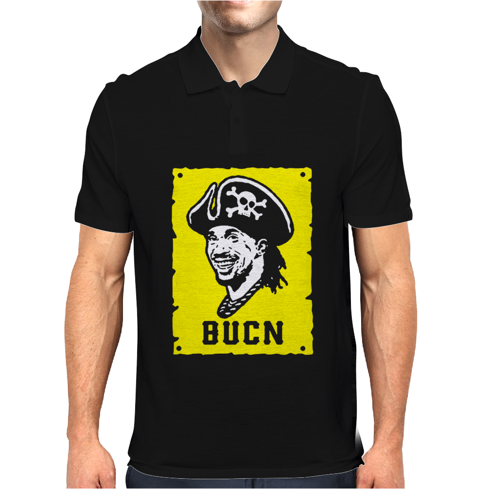 Andrew McCutchen Baseball Pittsburgh Bucn Mens Polo