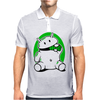 Android Eats Battery Mens Polo