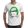 Android Eats Battery Mens T-Shirt