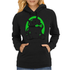 Android Eats Battery Womens Hoodie